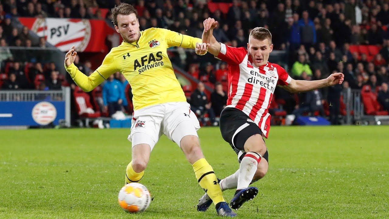 AZ Alkmaar kończy rok 2018 przegraną…